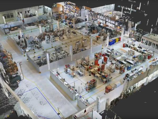 ELABO blickt mit der digitalisierten Fabrikplanung von NavVis und ipolog in die Zukunft