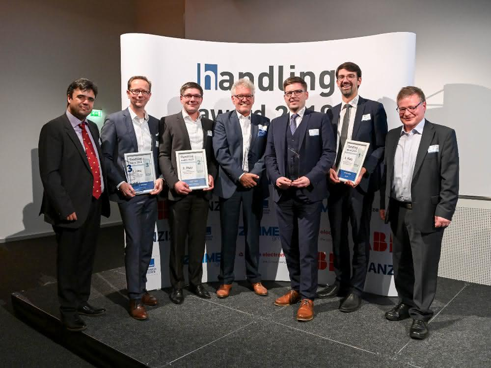 """Success! IPO.Plan Goes with Flexible Cell Production in Tow to the """"Handling Award"""" and Wins Prize!"""