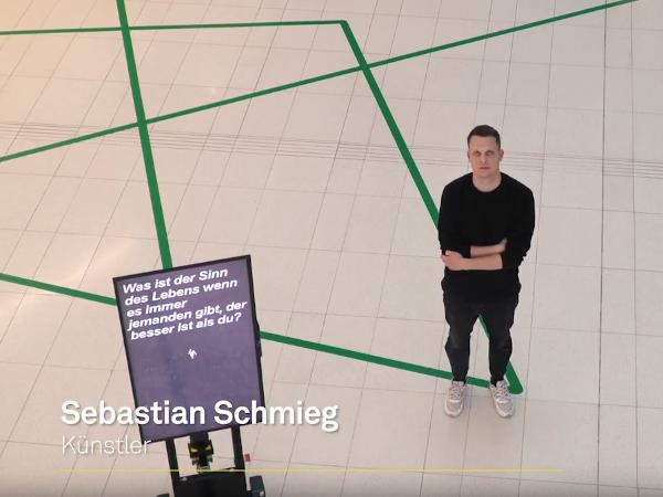 ipolog software being used in Sebastina Schmieg's Leonberg art installation